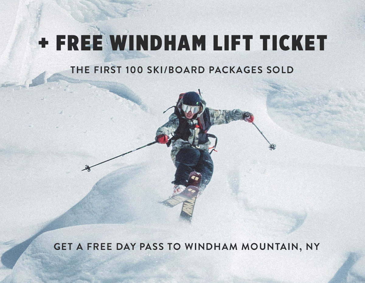 Free Lift Ticket