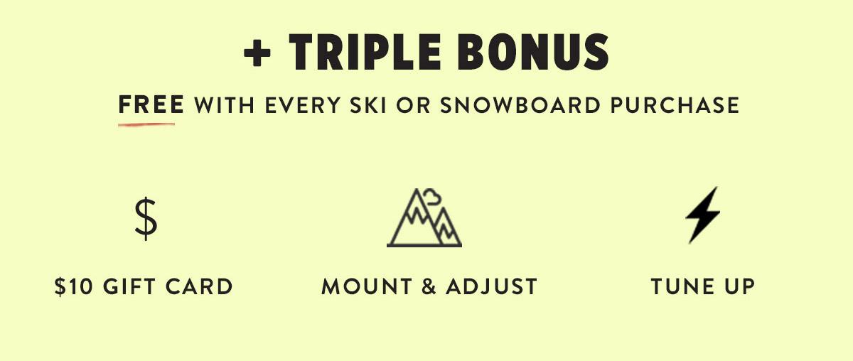 Triple-Bonus
