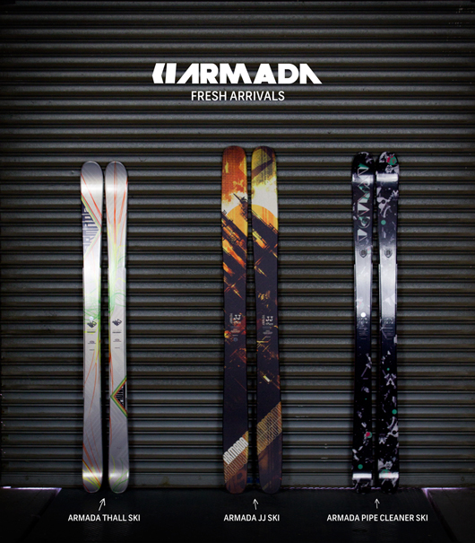 Fresh Arrivals: 2013 Armada Skis