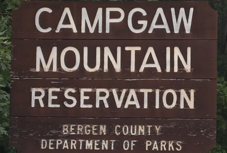 Campgaw Mountain Reservation Sign