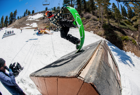 Scott Stevens throwing down a seriously flexy tail block.