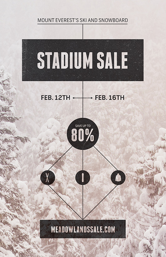 Meadowlands Stadium Sale Flyer