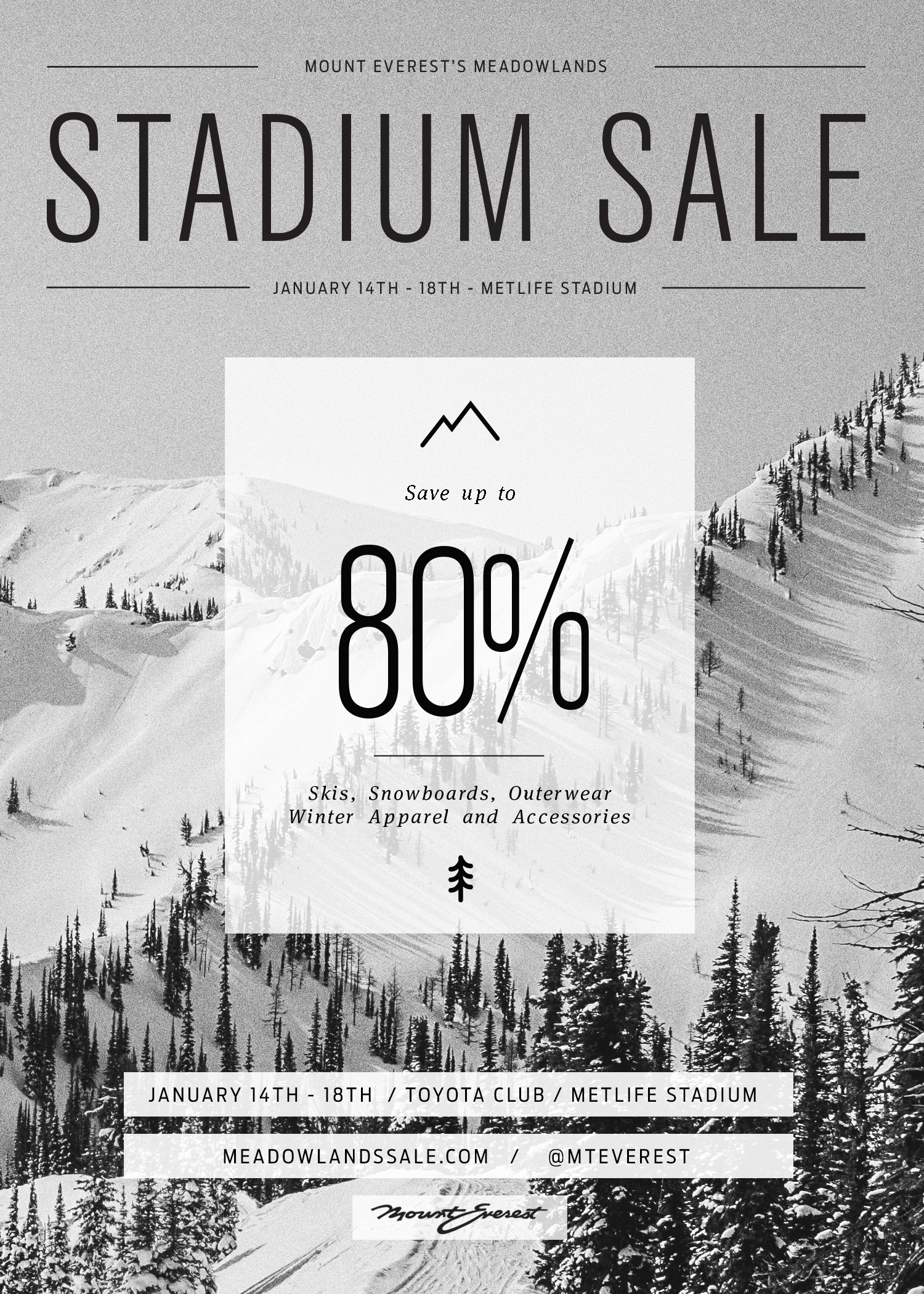 Stadium Sale Flyer