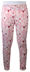 Hot Chillys Youth Pepper Skins Print Bottom