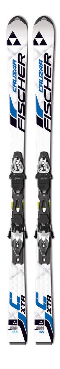 fischer cruzar fire powertrack ski rs10 powerrail ski. Black Bedroom Furniture Sets. Home Design Ideas