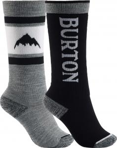 Burton Weekend Midweight Two Pack Snowboard Sock - Youth